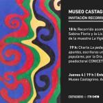 2014, Invitación charla Museo Castagnino de Rosario