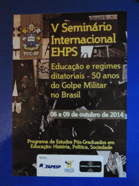 V Seminario Internacional, San Pablo, Brasil