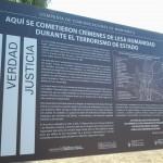 Liceo Militar Gral. Espejo, Sitio de Memoria, set. 2015