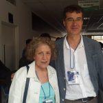 IARTEM 2016. Graciela  Carbone con Jesús Rodríguez, presidente de IARTEM.