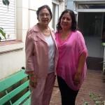 Sonia Riveros y Violeta