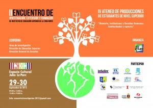 II Encuentro de Investigación, extensión y formación de IES FORMATO HORIZONTAL