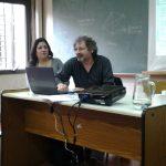 Sonia Riveros y Claudio Suasnabar. XII Congreso Nacional y V Congreso Internacional sobre Democracia. UNR. 2016.