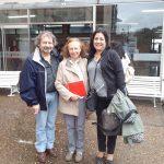 Carolina Kaufmann, Sonia Riveros y Claudio Suasnabar. XII Congreso Nacional y V Congreso Internacional sobre Democracia. UNR. 2016.
