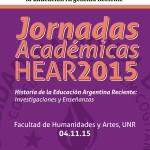 Jornadas Académicas HEAR 2015